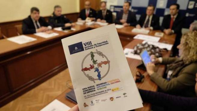 VII Jornadasde Seguridad, Defensa y Cooperación Ayuntamiento Málaga