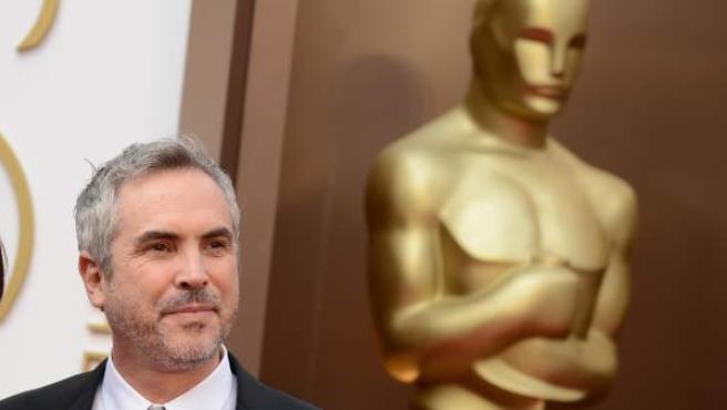 El director mexicano, en los Oscar.