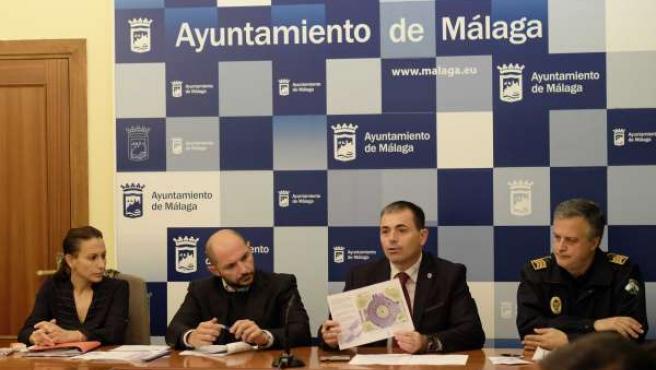 Raúl López y Julio Andrade informe de siniestralidad vial 2013