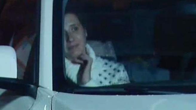 Teresa Romero llega a Becerrea, Lugo, localidad donde residen sus familiares.