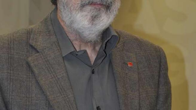 El diputado de IU-Aragón Adolfo Barrena.