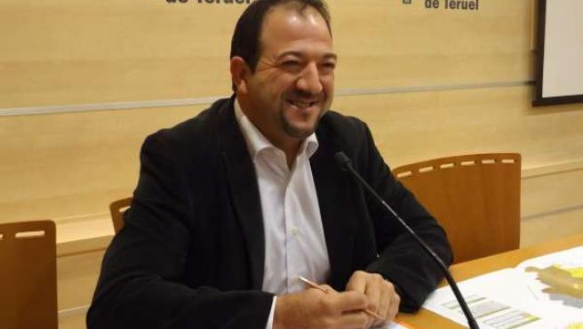 El vicepresidente segundo de DPT, Ramón Millán, este jueves en rueda de prensa