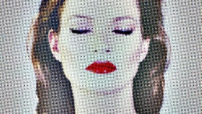 Kate Moss retratada en 2013 por Chris Levine