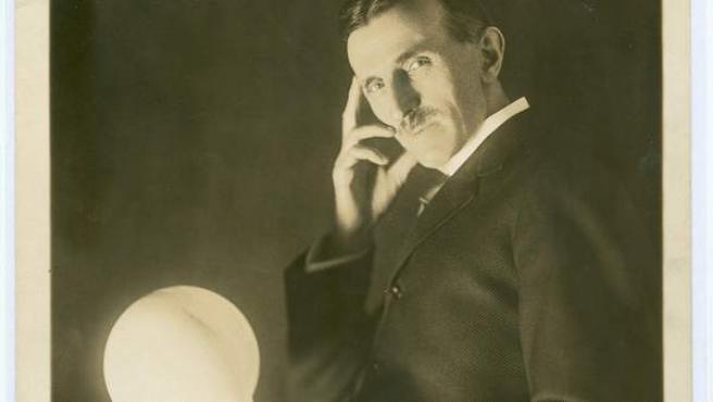 El inventor Nikola Tesla.
