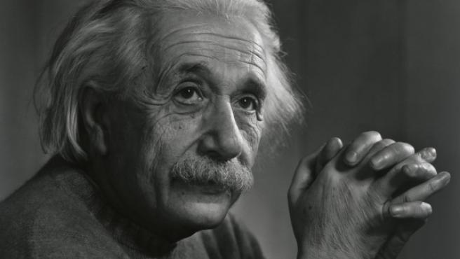 Albert Einstein retratado por Yousuf Karsh