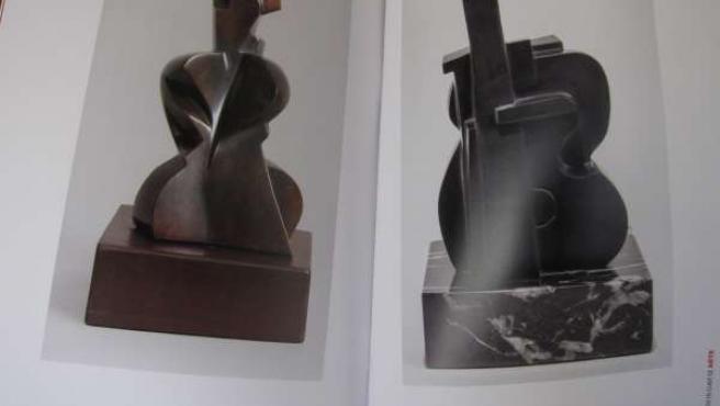 Catálogo de la exposicón de Pablo Serrano 'Homenaje a Picasso'