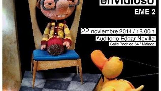Cartel de la obra El Príncipe Envidioso de EME 2 auditorio Edgar Neville