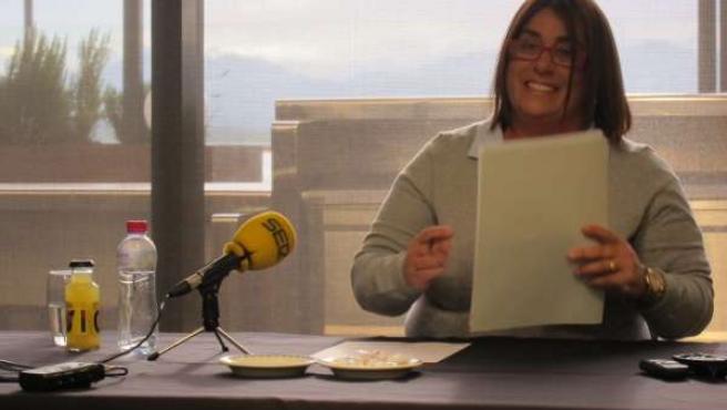 Judith Pérez Ezquerra, portavoz PSOE en Santander
