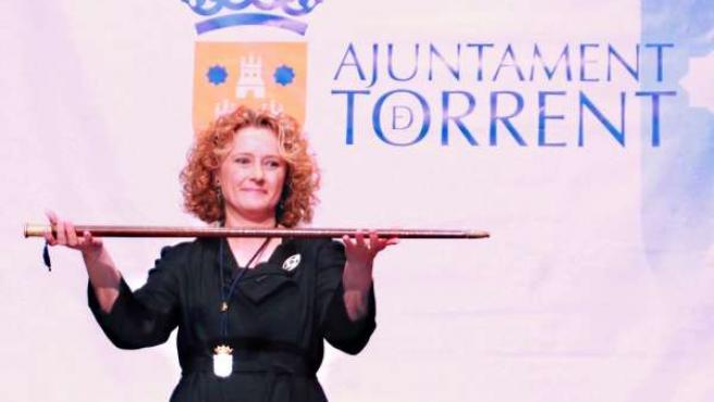 Mparo Folgado Toma Posesión De Su Cargo Como Nueva Alcaldesa De Torrente.