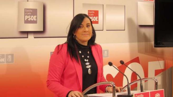La procuradora socialista Ana Sánchez