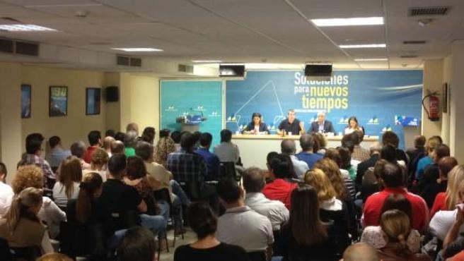 Consejo Politico de CC en Tenerife