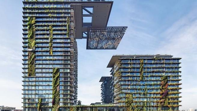 El One Central Park, el complejo residencial comercial de Sídney, diseñado por Jean Nouvel