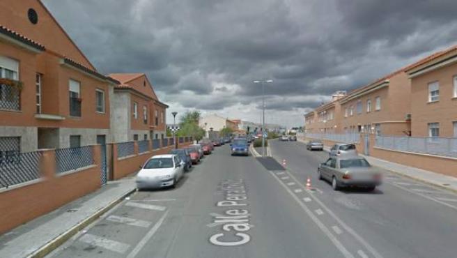 Los hechos han ocurrido en una vivienda de la calle Peralbillo del municipio de Miguelturra (imagen).