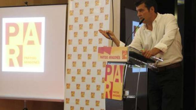 Javier Allué, candidato a las primarias del PAR