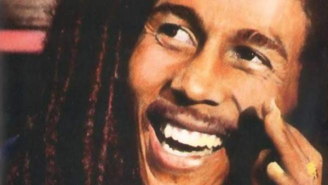 El cantante y compositor Bob Marley.