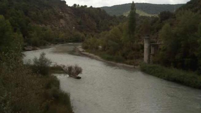 Río Gállego En Huesca