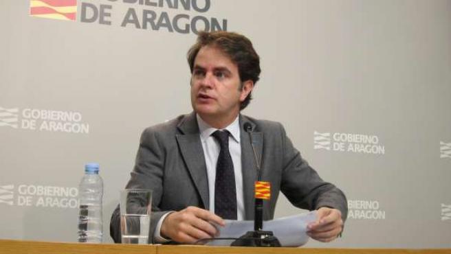 Roberto Bermúdez de Castro, portavoz del Gobierno de Aragón