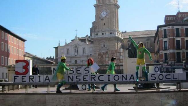 Actores de la PAI promocionan la Feria Inserciona 2015