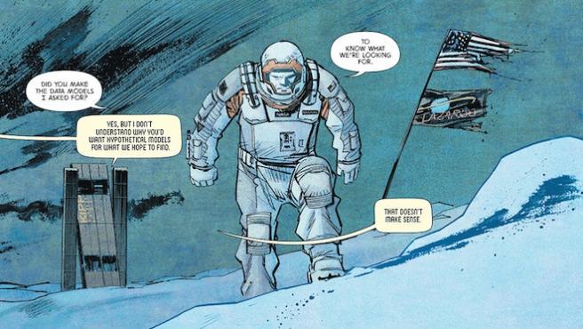 Lee el cómic de 'Interstellar'