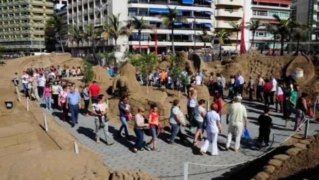 Belén de Arena de Las Palmas de Gran Canaria de 2013