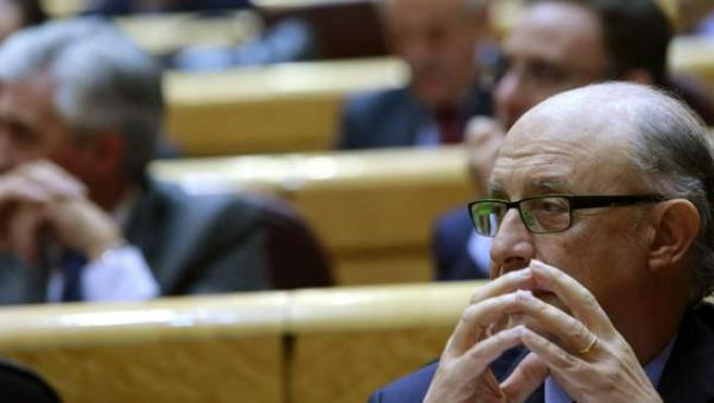 El ministro de Hacienda y Administraciones Públicas, Cristóbal Montoro.