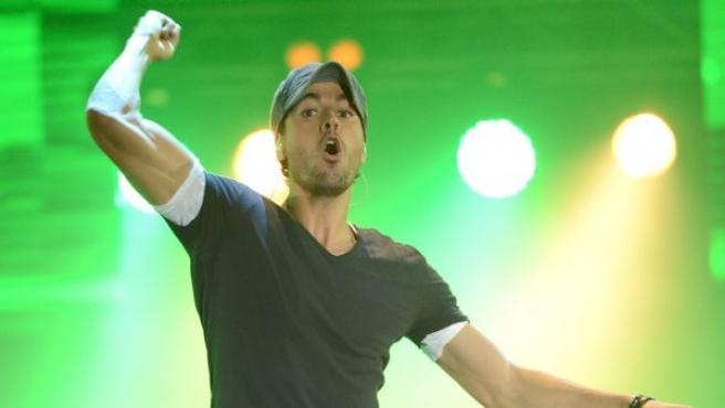 El cantante español Enrique Iglesias.
