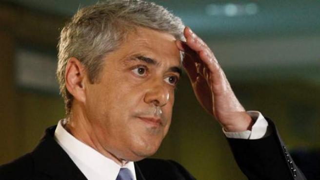 Fotografía de archivo, tomada en Lisboa el 5 de junio de 2011, del ex primer ministro portugués José Sócrates.