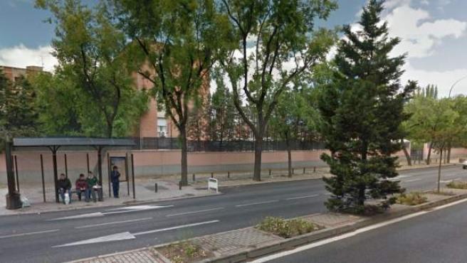 Imagen de la calle de la Fuente Carrantona, en Madrid.