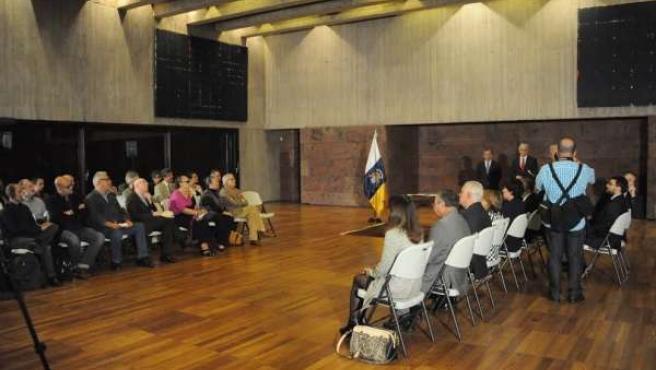 Acto institucional celebrado en Santa Cruz de Tenerife