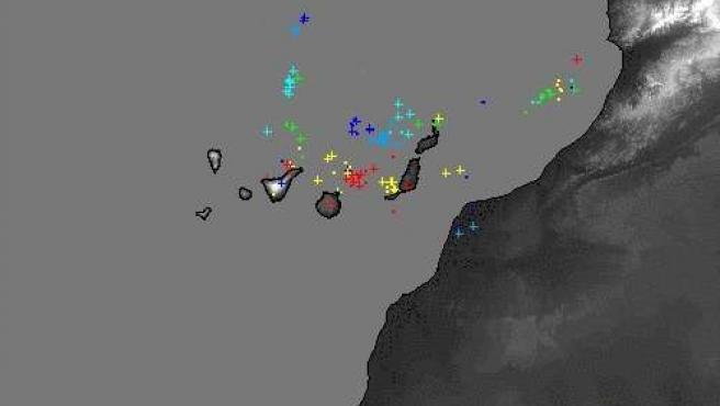 Localización de los rayos