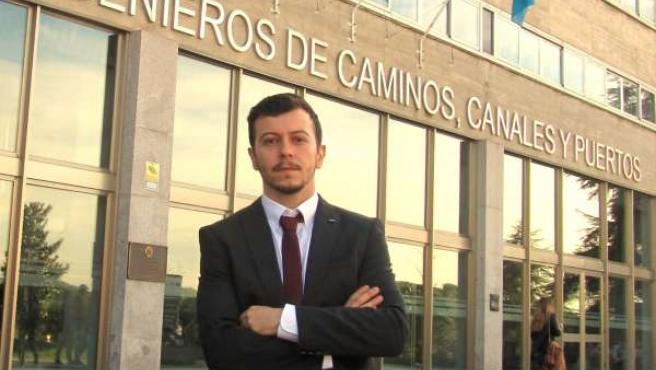 El Doctor Ingeniero de Caminos, Canales y Puertos Roberto Díaz Sánchez