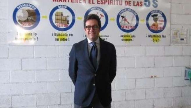 El director general de Alfran, Jose María Domínguez