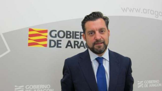 El director gerente del Instituto Aragonés de Empleo (INAEM), Jorge Escario