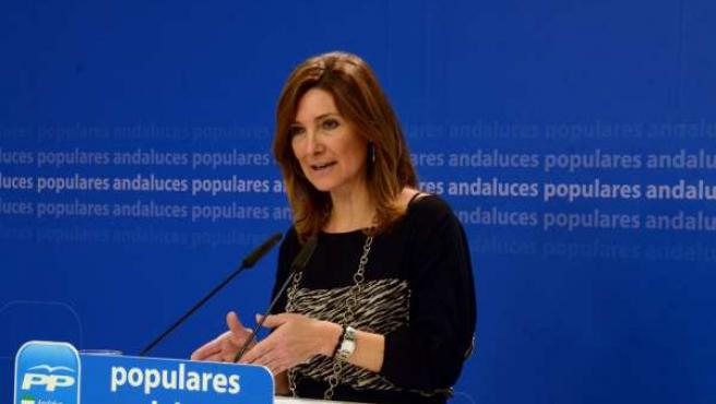 La portavoz adjunta del Grupo Parlamentario Popular, Alicia Martínez
