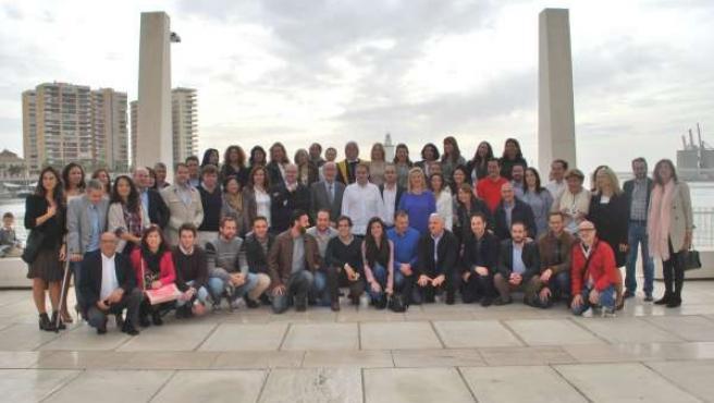 Equipo de campaña PP de Málaga capital alcaldía De la Torre 2015 elecciones