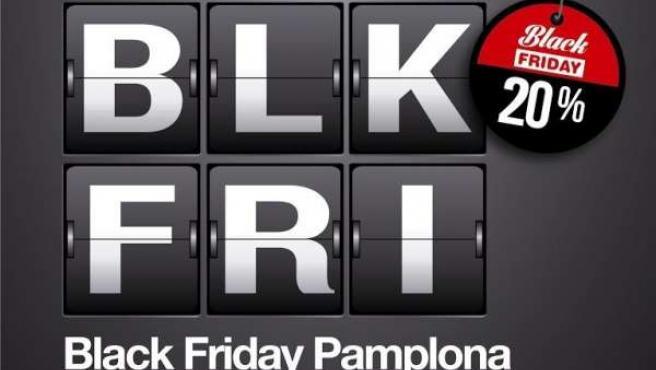 Comercios de Pamplona celebrarán el Black Friday.