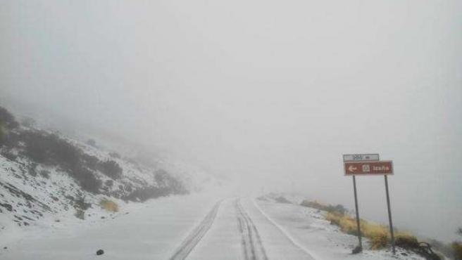 Acceso al Teide