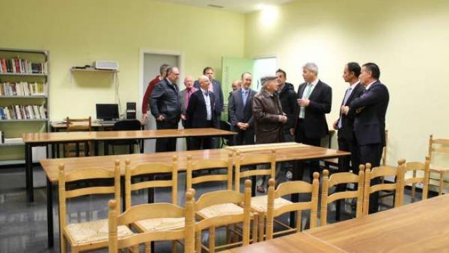 Inauguración oficial del Hogar del Jubilado en Daroca.