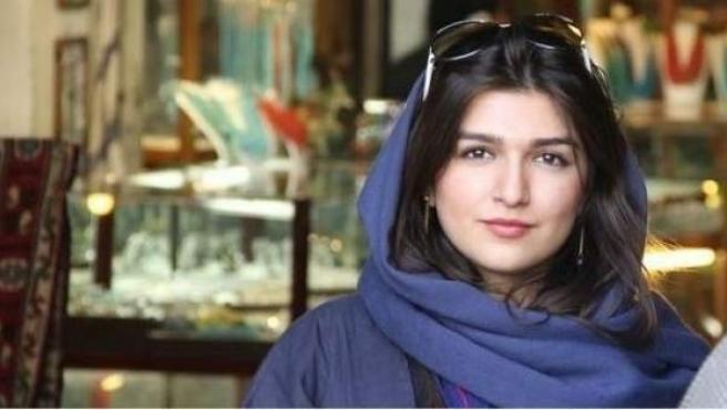 Ghoncheh Ghavami, mujer iraní condenada por asistir a un partido de voleibol.