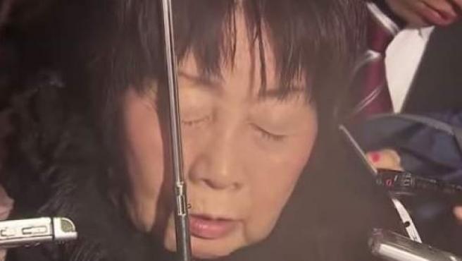 La japonesa Chisako Kakehi, acusada de la muerte de sus cinco maridos.
