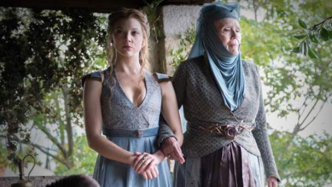 La actriz Natalie Dormer, en su papel de Margaery Tyrell en 'Juego de Tronos'.