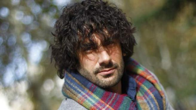 El cantante asturiano Melendi, en un momento de la entrevista con '20minutos'.