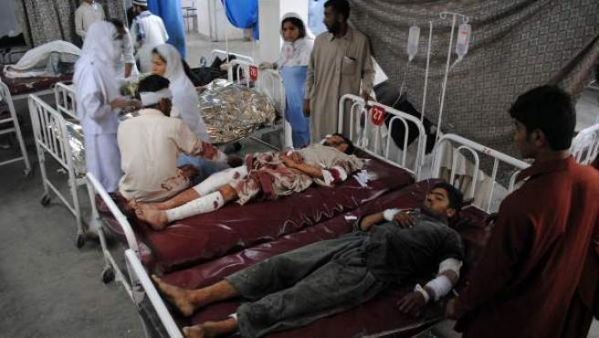 Imagen de archivo de un hospital de Pakistán.