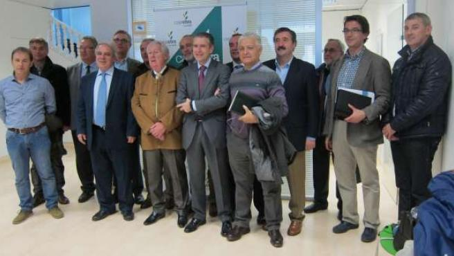 El Consejo Rector de Cajaviva Caja Rural