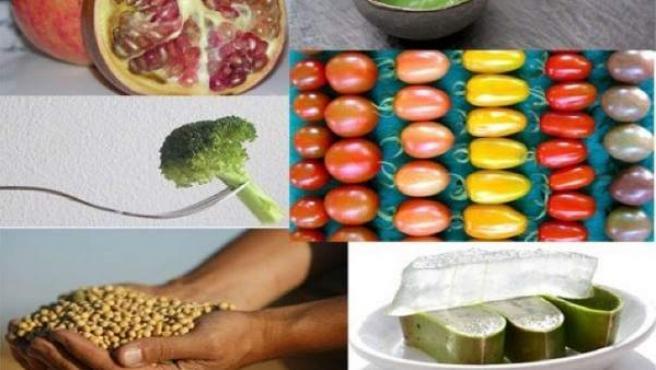 Granada, tomate, brócoli, soja... alimentos que actúan contra el cáncer.