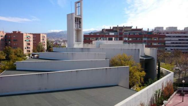 Imagen de la parroquia de los Romanones (Granada), en donde se ha destapado una presunta trama de abusos sexuales de religiosos a menores.