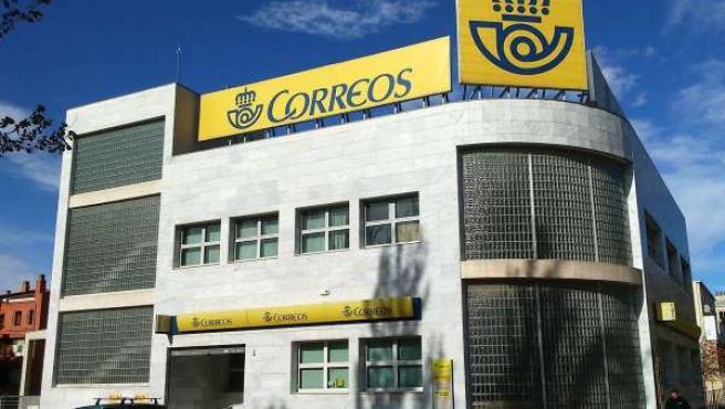 Oficina de Correos en Zaragoza