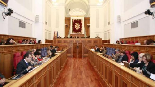 Sesión plenaria en las Cortes
