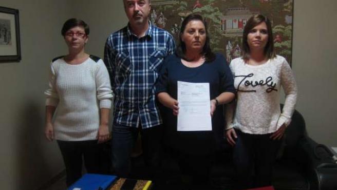 Representantes de la 'Asociación de Afectados por la Klebsiella'