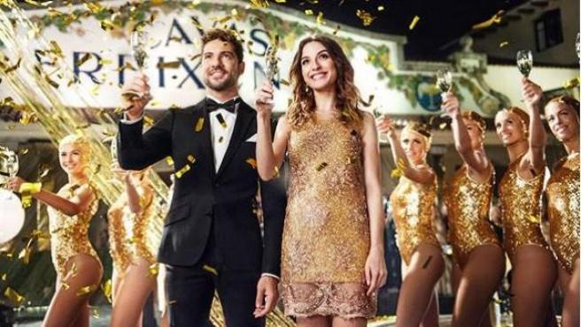 Bisbal y María Valverde felicitan las fiestas en el tradicional anuncio de Freixenet.